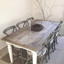 Shabby Chic Dining Room Furniture For Driftwood Color Table Base Furniture Pinterest Pedestal Dining
