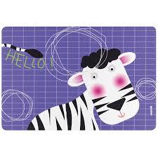 Коврик <b>сервировочный</b> детский Hello зебра от <b>Guzzini</b> (арт ...
