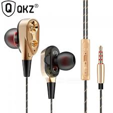 <b>QKZ CK8 Earphones</b> Bass Headset HiFi Earbuds In-Ear Headphone ...