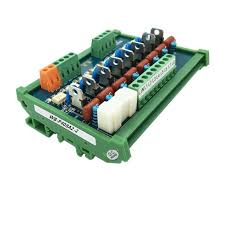 Contactless relay 0 volt trigger <b>PLC AC amplifier board</b> thyristor ...