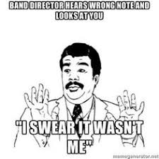 Band Geek on Pinterest | Band Jokes, Music Humor and Oboe via Relatably.com