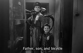 norman holland on vittorio de sica s bicycle thieves father son and bicycle