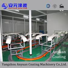 <b>China Electrostatic</b> Fluidized Bed Coating Line Photos & Pictures ...