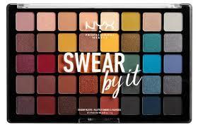 NYX professional makeup <b>Палетка теней для век</b> Swear By It ...