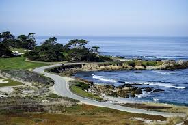 <b>Scenic</b> 17-Mile Drive in Picturesque Pebble Beach