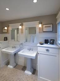 craftsman style bathroom lighting