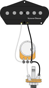 guitar wiring seymour duncan pickup volume control
