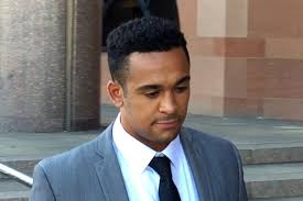 England rugby player denies raping Tinder date and claims he     Video grab of Zach Kibirige leaving Newcastle Crown Court  Photo  PA