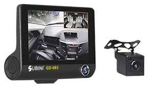 <b>Видеорегистратор Subini GD</b>-685RU, 3 камеры, GPS — купить по ...