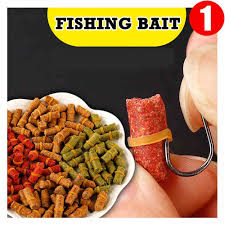 <b>1 Bag</b> of 100 Pcs Carp <b>Fishing Bait</b> Fresh Scent Crucian Grass Carp ...