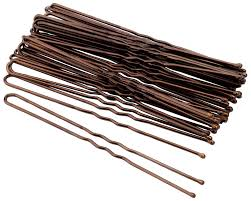 Набор шпилек для волос <b>Гурмандиз</b> Коричневый 7,5 см