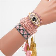 <b>GRAPES</b> Fashion <b>Miyuki Bracelet</b> for Women Turkey Eye <b>Jewelry</b> ...