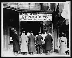 women suffrage timeline also