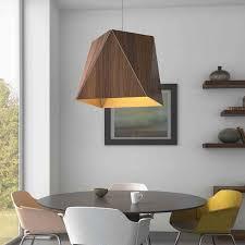 Cerno: <b>Modern Wood Pendant</b> Lighting | YLighting Ideas