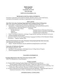 sample of curriculum vitae for teaching position resume builder sample of curriculum vitae for teaching position curriculum vitae tips and samples sample sociology education