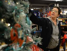 suzette parmley pat ficarotta shops in the holiday section at kohlacutes in yardley many such