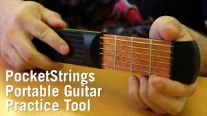 PocketStrings <b>Portable Guitar</b> Practice Tool from ThinkGeek - YouTube