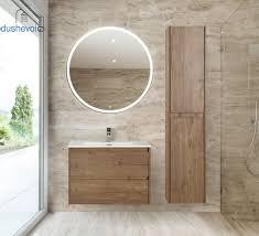 Комплект мебели BelBagno Kraft 80 <b>Rovere Tabacco</b>, цена 25730 ...
