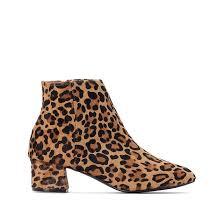 <b>Ботильоны кожаные</b> с леопардовым рисунком леопард <b>La</b> ...
