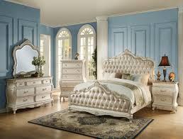 bedroom furniture acme panel set