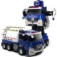 """<b>Радиоуправляемый робот-трансформер Jia Qi</b> """"Бензовоз ..."""