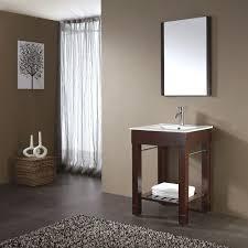 open bathroom vanity cabinet: avanity loft  in w x  in d x  in h vanity cabinet only in dark walnut loft v dw the home depot