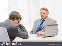 interview meeting in office picture older man and young man having argument in office