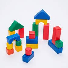 Купить строительный <b>набор</b>, <b>20 элементов</b> 4 х 4 см арт. 1180360 ...