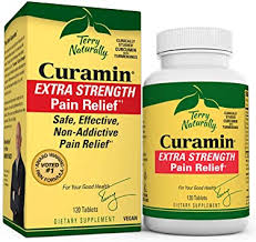 Terry Naturally <b>Curamin</b> Stop <b>Pain</b> Now <b>Extra Strength</b> (120 Vegan ...