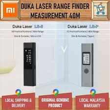 Xiaomi <b>Duka LS</b>-<b>P</b> Laser Range Finder Measurement 40m <b>Digital</b> ...
