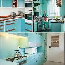 Turquoise Kitchen Tasty Turquoise Kitchens Dans Le Lakehouse