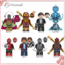 Unionmall <b>8PCS</b> Mini <b>Action</b> Figures Collectable Toys Building ...