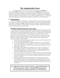 good argumentative essay thesis examples for argumentative essays how to write a thesis good argumentative