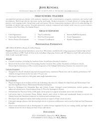 high school teacher resume berathen com high school teacher resume and get inspiration to create a good resume 19