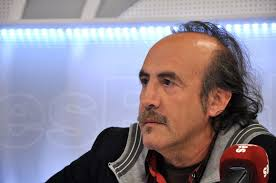 Pedro Reyes en esRadio. Un momento durante la entrevista. | LD / David Alonso. - pedro-reyes-2