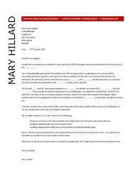 office manager cover letter exampleoffice manager resume   office manager cover letter