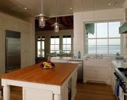 Rustic Kitchen Island Light Fixtures Kitchen Industrial Rustic Kitchen Lighting Over White Kitchen