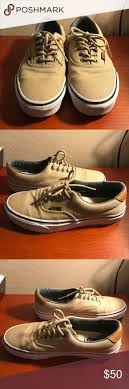 best ideas about tan vans womens summer shoes tan and leather vans tan vans leather heel and tongue size 8 true