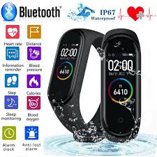 Upgraded <b>M4 Smart Bracelet</b> IP67 Waterproof Smart Wristband ...