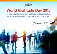 World Gratitude Day: How To Be Grateful In The Workplace - Inside ...