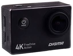 <b>Видеорегистратор Digma FreeDrive Action</b> 4K: купить за 2147 руб ...