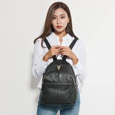 Zency Hot Selling <b>Women</b> Backpack 100% Genuine Leather ...