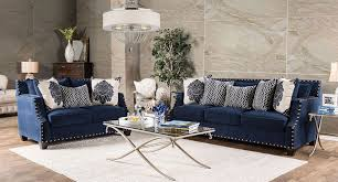 Navy Living Room Chair Cornelia Living Room Set Navy Living Room Sets Living Room