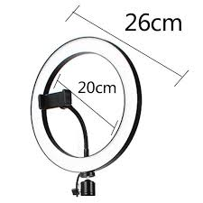 Table Tripod Living Broadcast Dimmable <b>LED Ring Light</b> 5.7'' 6'' 8 ...