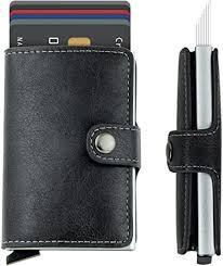 Amazon.com: Meeto Credit Card Holder RFID Blocking <b>Genuine</b> ...