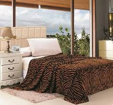 Safari <b>Animal</b> Print Ultra Soft Brown <b>Zebra</b> King Size Microplush ...