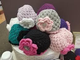 <b>Handmade Crocheted</b> Flower Hats - <b>New</b> Mother <b>New</b> Baby Store