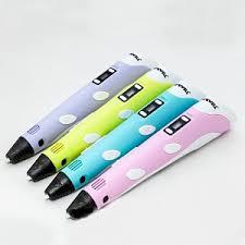 3D ручка <b>MyRiwell</b> RP100B + 7 цветов <b>ABS пластика</b> + 4 цвета
