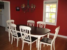 red dining room designs