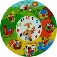 <b>Деревянная рамка вкладыш</b> Часы-животные | | Малявкино